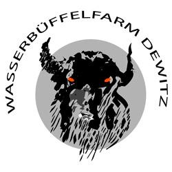 Das Logo der Wasserbüffelfarm Dewitz